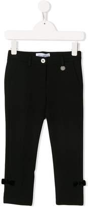 Simonetta bow detail trousers