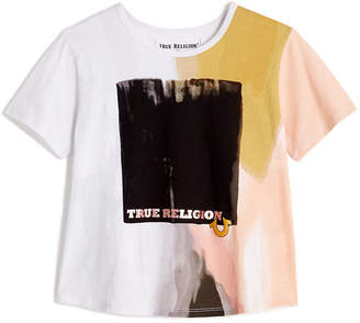 True Religion TODDLER/LITTLE KIDS WATERCOLOR GRAPHIC TEE