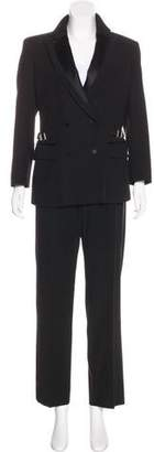 Gucci Double-Breasted Wool Pantsuit