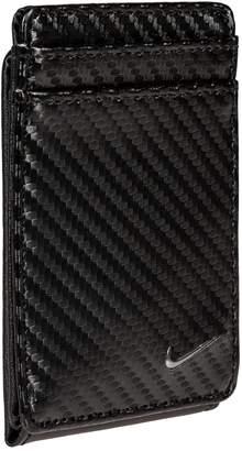 Nike Men's RFID-Blocking Magnetic Leather Front-Pocket Wallet