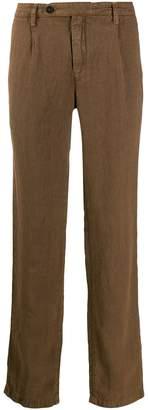 Massimo Alba creased casual trousers