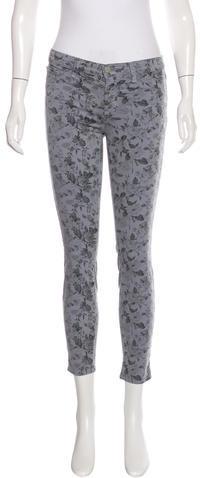 J BrandJ Brand Floral Print Skinny Jeans w/ Tags