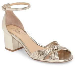 Badgley Mischka Lacey Ankle Strap Pump
