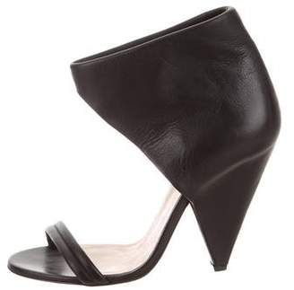 IRO Leather High-Heel Sandals