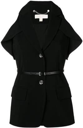 MICHAEL Michael Kors cold shoulder blazer