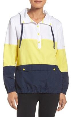 Women's Columbia Sportswear 'Harborside' Windbreaker Hoodie $65 thestylecure.com