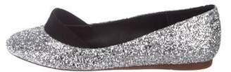 Stella McCartney Glitter Ballet Flats