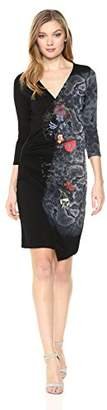 Desigual Women's Next to me Long Sleeve Dress
