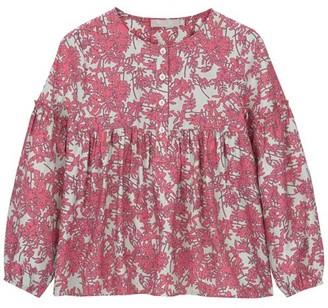 Mint Velvet Pink Daisy Print Blouse