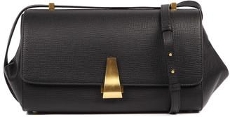 Bottega Veneta Angle Bag In Black Palmellato Calfskin