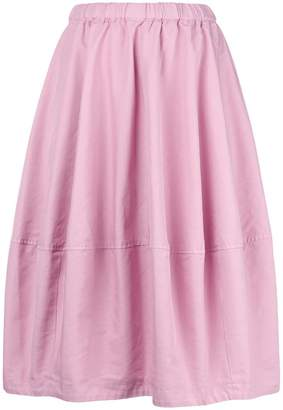 Comme des Garcons flared pleated full skirt