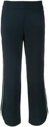 Armani Exchange wide leg track pants