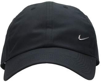 Nike Sportswear Swoosh Heritage Black Cotton Cap
