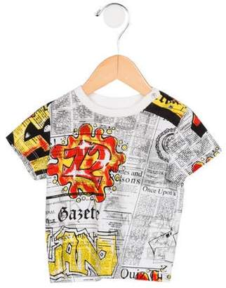 John Galliano Boys' Printed Short Sleeve T-Shirt