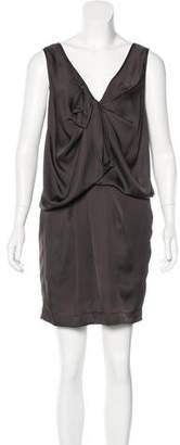 Robert Rodriguez Draped Sleeveless Dress