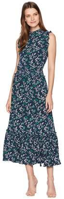 MICHAEL Michael Kors Midi Boho Smocked Waist Dress Women's Dress
