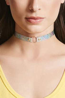 Forever 21 Holographic O-Ring Choker