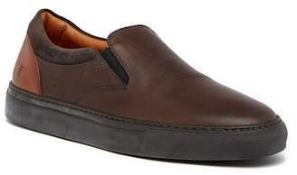 Frye Owen Gore Leather Loafer