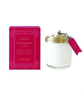 MOR Fragrant Candle 380G Pomegranate & Cassis