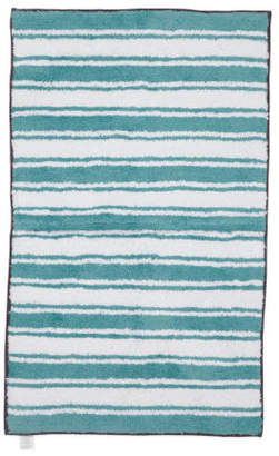 Made In India Reversible Stripe Bath Rug