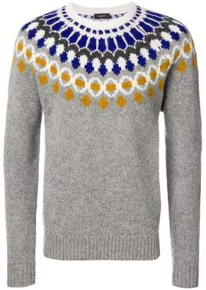 Joseph pattern knitted sweater