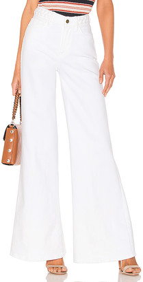 Frame Le Palazzo Braided Wide Leg.