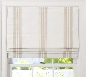 Pottery Barn Riviera Stripe Cordless Roman Shade