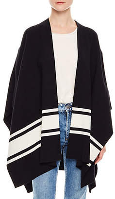 Sandro Notting Hill Flore Open-Front Poncho