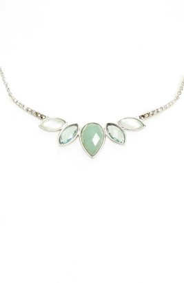 Women's Judith Jack Lakeside Crystal Frontal Necklace $135 thestylecure.com