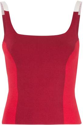 Nagnata colour block tank top