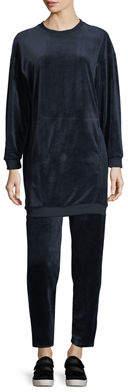 Max Studio Velour Pullover Tunic