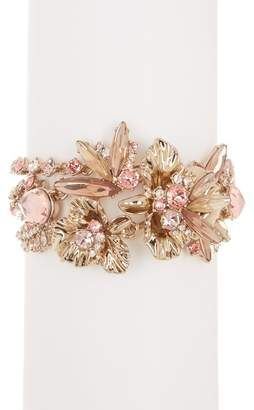 Givenchy Drama Flower Crystal Bracelet