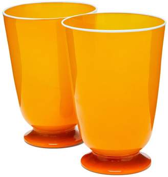 Murano LA DOUBLE J Set of 2 glasses