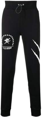 Plein Sport graphic print jogging bottoms