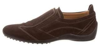 Tod's Suede Slip-On Sneakers