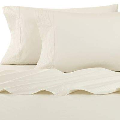 Canyon Shoreline King California King Fitted Sheet in Ivory