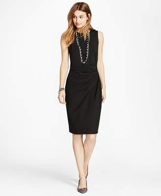 Ruched Ponte Sheath Dress $68 thestylecure.com