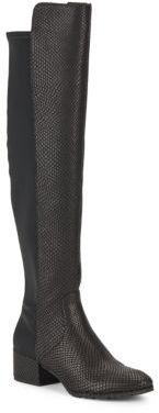 Felix Over-The-Knee Leather Boots $250 thestylecure.com