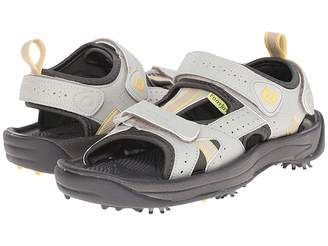 Foot Joy FootJoy Golf Sandal (All Over Cloud/Yellow Trim