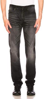 Saint Laurent University Patch Jeans