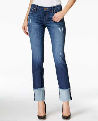 Kut From The Kloth Cameron Distressed Boyfriend Jeans $89 thestylecure.com