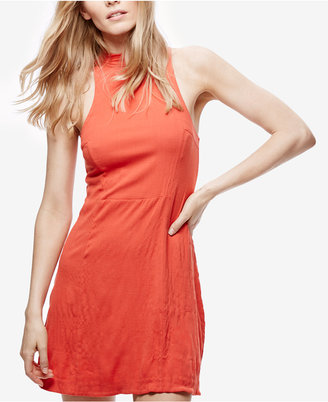 Free People Sleeveless High-Neck Dress $98 thestylecure.com