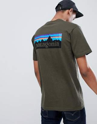 Patagonia P-6 Logo Responsibili-Tee T-Shirt in Sediment Grey