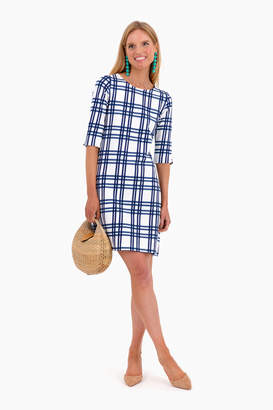 Americana Circolo Overcheck Soft Touch Jersey Dress