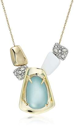 Alexis Bittar Sliding Metal Bead Pendant Necklace