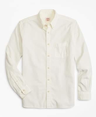 Brooks Brothers Garment-Dyed 21-Wale Corduroy Sport Shirt