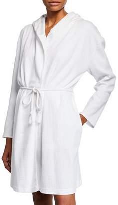 fd9d8f0409 Skin Charlotte Cotton Short Robe