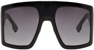 de6bd1ef820 Christian Dior Black Oversized DiorSoLight1 Sunglasses