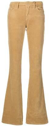 Blugirl corduroy flared trousers