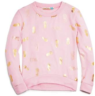 Vintage Havana Girls' Pineapple-Print Sweatshirt